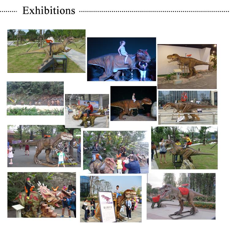 4.dinosaur ride Products display