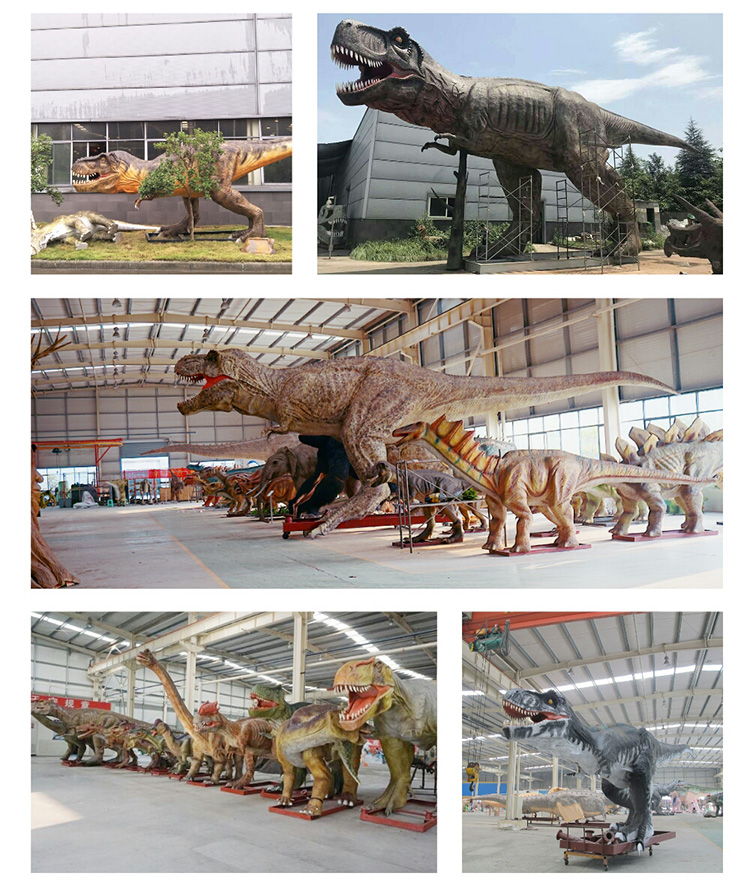 dinosaur ride factory